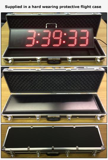 LED Race Clocks For Sale