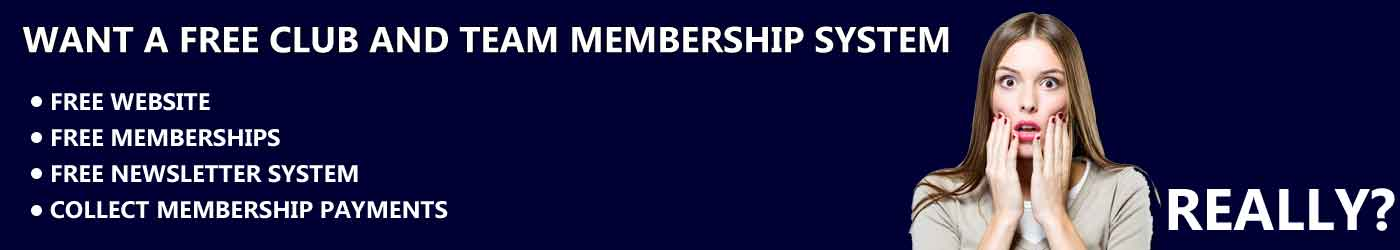 FREE Club & Team Membership System